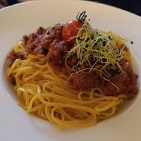 Tagliollini with Bolognese sauce