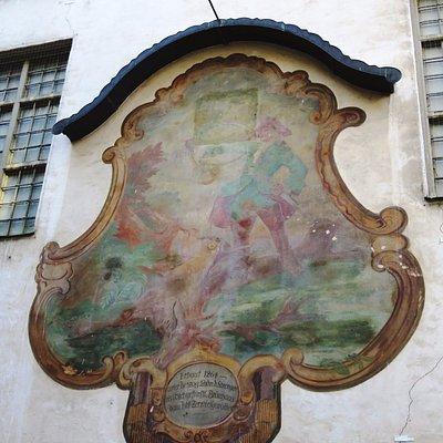 Zerwirkgewolbe Fresco in Ledererstrasse - Munich (17/May/17)