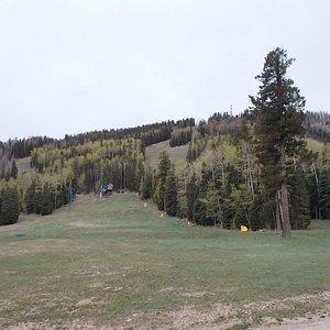 Springtime at Pajarito Ski Mountain, Los Alamos NM.
