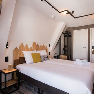 The Sleeping Apart Together Room at the Mr. Jordaan Hotel