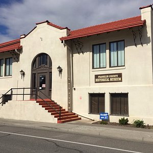 Franklin County Historical Museum in the Pasco Carnegie Library Building