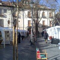 Exposición plaza del Conde de Barajas