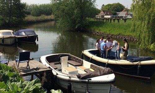 Comfortabele boten om zelf mee te varen