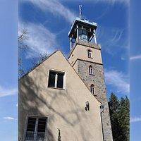 Ausschnitt Lessingturm mit Pilgerherberge davor