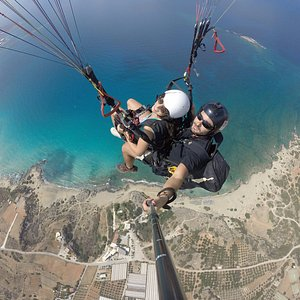Falsarna paragliding tandem flight