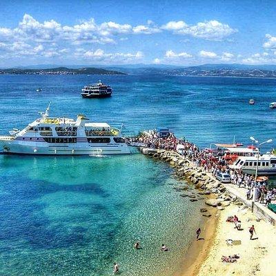 Cap.Fotis at the port of Ouranoupolis