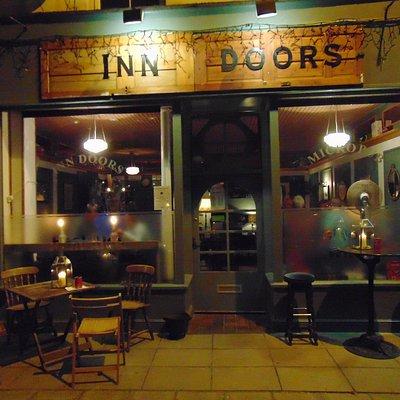 Summer evening at Inn Doors