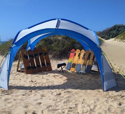 Sandboarding Office