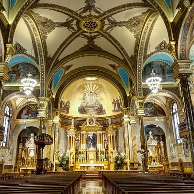 Baroque Interior of St. John Cantius Church