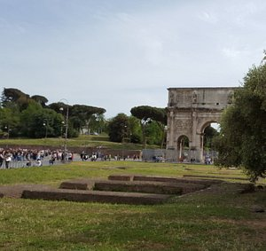 Great area of Rome