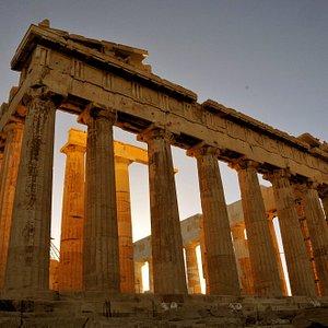 The Light Within: the Parthenon, Athens Acropolis, at dusk.