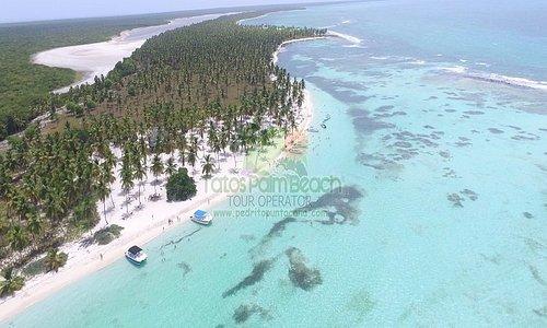 El paraiso de canto de la playa