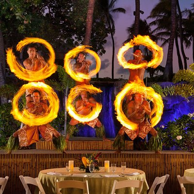 Wailele Luau - Authentic Fire Dancers