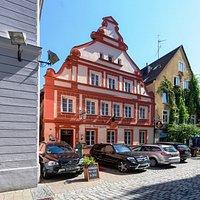 Gasthaus Schwarzer Bock in der historischen Altstadt