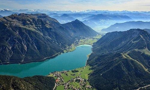 Le lac d'Achensee au Tyrol