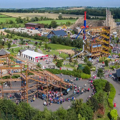 Aerial View of Tayto Park