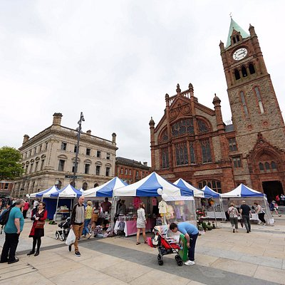 Walled City Market, Guildhall Square, Derry