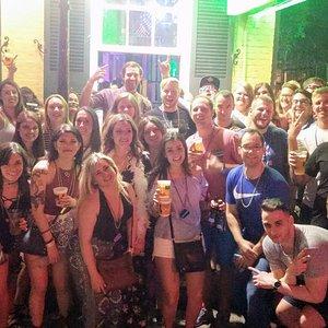 Bourbon Street pub crawl