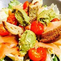 Salade guacamole