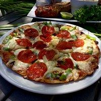 Homemade Pizza.....yum