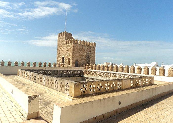 Vistas desde la azotea del Castillo. Torre de poniente.