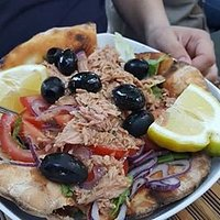 """Tuna salad is absolutely HUGE. And it comes with """"pita bread"""""""