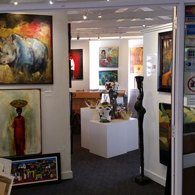 Lovely selection of original art by top South African artists.