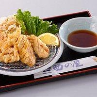 地鶏天ぷら