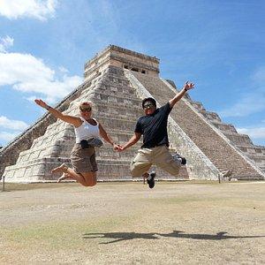 Chichen Itza, Weltkulturerbe der UNESCO und eines der 7 neuen Weltwunder!