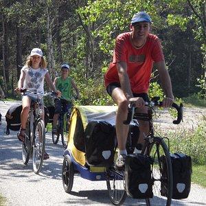 A family bike holiday