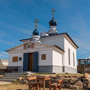 Ткой вот небольшой но очень Большой духово храм на о. Ольхон
