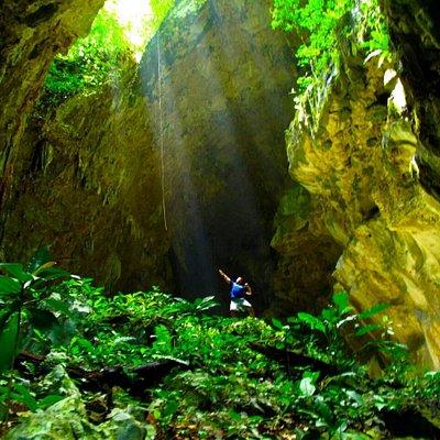 """""""El Jardín"""" Parque Nacional Cuevas de Candelaria"""