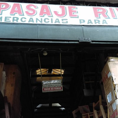 Pasaje Rivas Centro de Bogotá