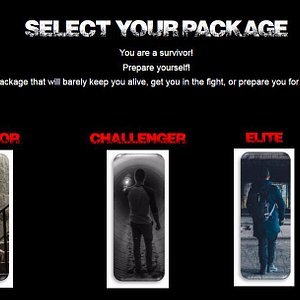 Choose from 3 different packages to prep for the Adventure!