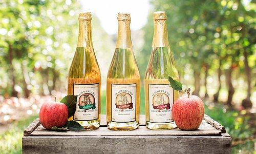 Our original three ciders