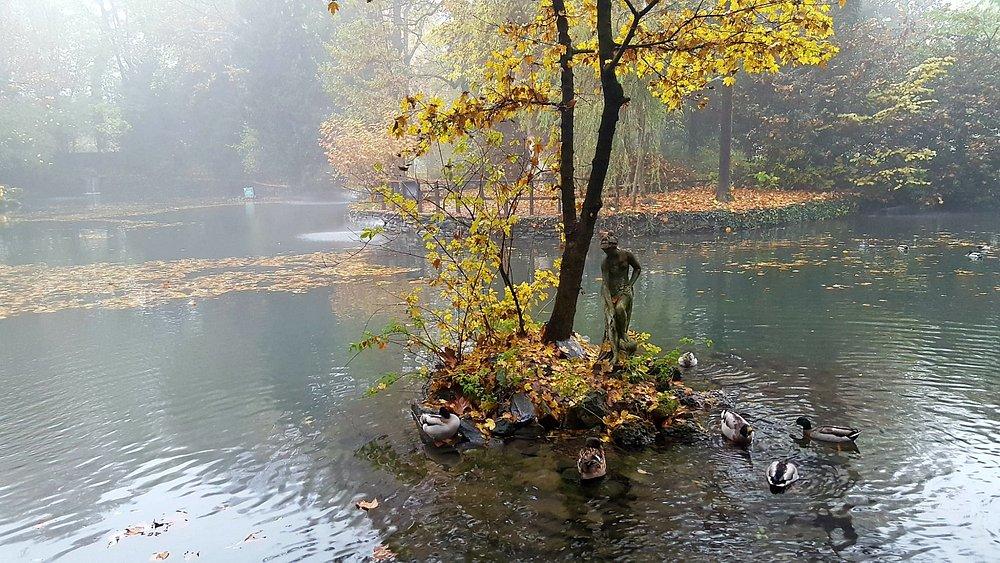 Il laghetto in autunno
