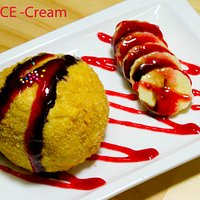 FRIED ICE CREAM - Cookie and Cream Flavor