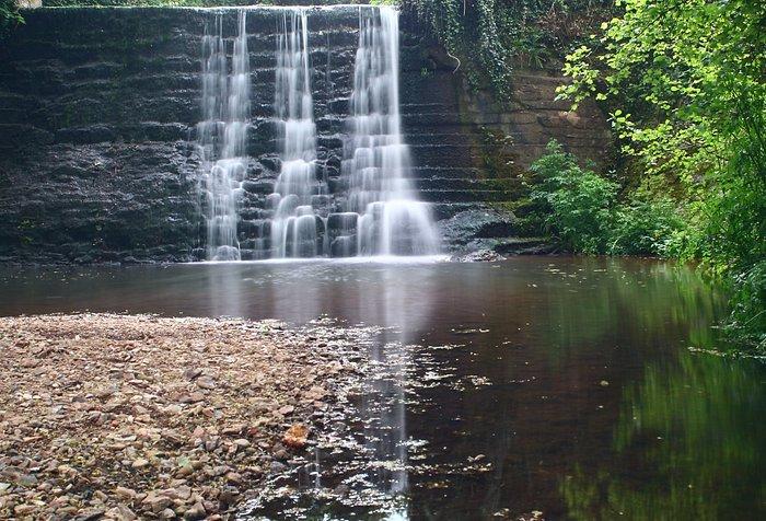 Trull waterfall, a hidden gem