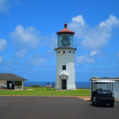 Kilauea Point lighthouse. Northern most point of Kauai.