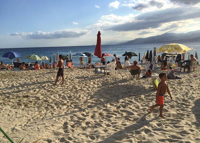 Foto fatta in una delle spiagge di Gallico Marina ...