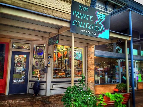 Your Private Collection Art Gallery on Granbury's Square.