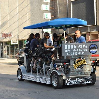 Cruising downtown Rapid City!