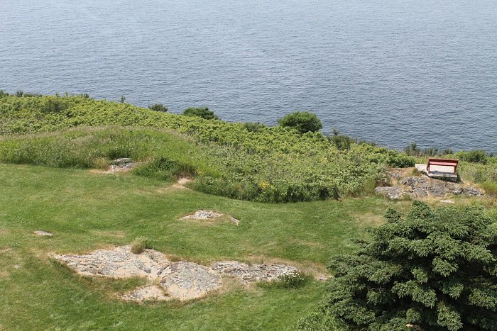 View from the top of Seguin Island Lighthouse