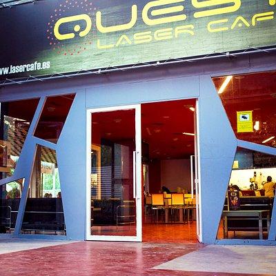 Entrada Quest Laser Cafe Valencia