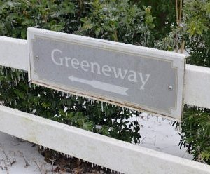 One entrance to the North Augusta Greeneway