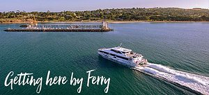 You can now travel by Ferry from Melbourne Docklands to Port Arlington