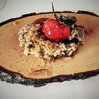 Algunos de los platos ricos que degustamos... el risoto espectacular!!