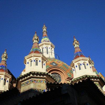 Sant Roma Catalan Church in Lloret del Mar