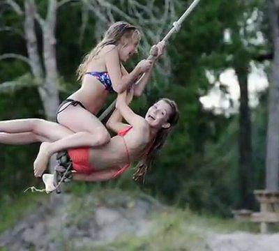 Bobs River Place-- Rope Swings, Waterslides, Jumping  Platform, Log Roll, Karaoke, Water Volleyb