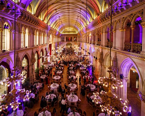 Silveste Gala in Vienna City Hall (Wiener Rathaus - Festsaal)